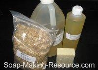 Baby Soap Recipe Kit