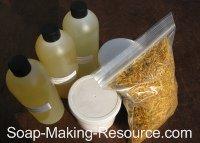Calendula Soap Recipe Kit