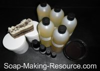 Coffee Soap Recipe Kit