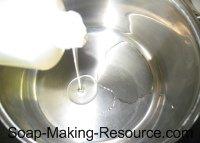 Measuring Out Castor Oil