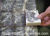 Removing Soap from Slab Mold
