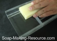 Using Unit as a Soap Planer