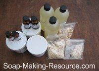 Tea Tree Oil Soap Recipe Kit