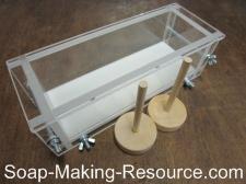 3 pound acrylic soap mold
