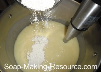 Adding Colloidal Oatmeal