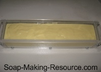 Soap Hardening in Mold
