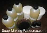 Charcoal Soap Recipe Kit