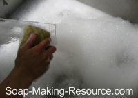 Cleaning Slab Soap Mold!