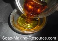 Combining Citrus Essential Oil Blend for Honey Soap Recipe