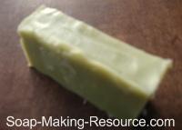 Non Gelled Comfrey Soap
