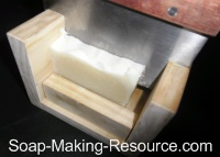 Cutting Soap with Guided Soap Cutter