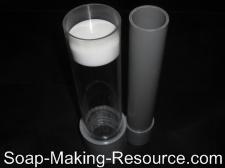 3 Pound Acrylic Cylinder Soap Mold