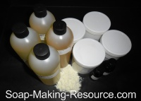 Goat's Milk Soap Recipe Kit