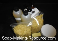 Lotion Bar Recipe Kit