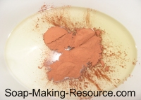 Madder Root in Crock-pot Before Infusion