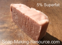 Madder Root Soap 5% Superfat