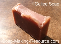 Gelled Madder Root Soap
