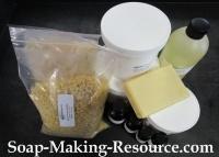 Mango Butter Lotion Bar Recipe Kit