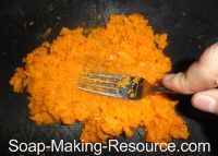 Mashing Carrots