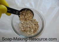 Measuring Out Colloidal Oatmeal