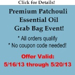 Free Patchouli Grab Bag Event