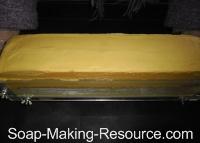 Removing Honey Soap Recipe from Acrylic Mold