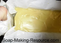 Removing Lotion Bar From Mold