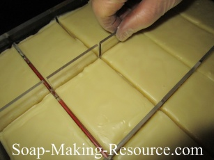Removing the Emu Oil Lotion Bars from the Mold
