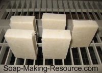 Shaving Soap Curing