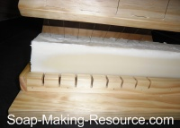 Cutting Soap with Wire Soap Loaf Cutter