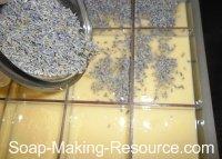 Adding Lavender Buds