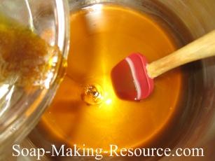 Adding the Rosemary Oleoresin