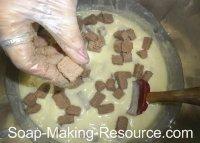 Adding Embeds to the homemade soap recipe Batch