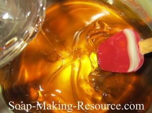 Adding the Tea Tree Essential Oil