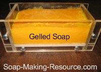 gelled annatto seed soap