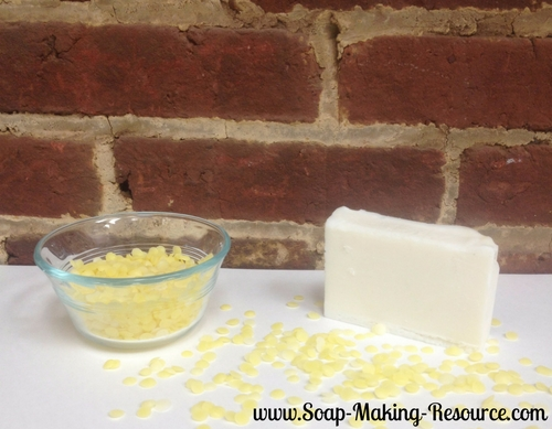 Finished Beeswax Soap