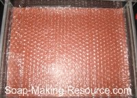 Bubble Wrap in Tray Mold