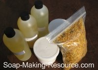 Calendula Soap Recipe Kit