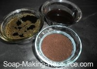 Coffee Soap Recipe Additives