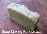 Gelled Comfrey Soap