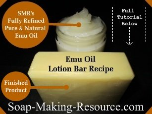 Emu Oil Lotion Bar Recipe