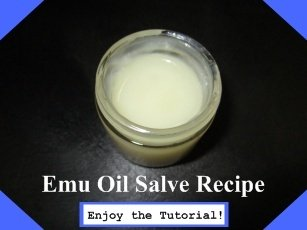 Emu Oil Salve Recipe