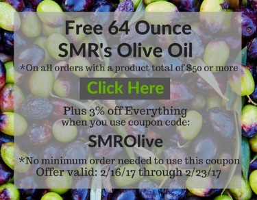Free 64 Ounce Olive Oil Event