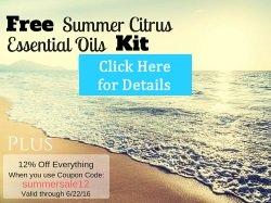 Free Summer Citrus Essential Oils Kit Event