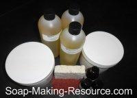 Gardener's Soap Recipe Kit