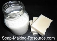 Goat's Milk Soap Recipe