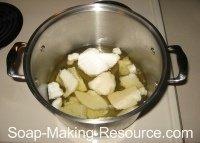 Melting Oils for Handmade Soap Recipe