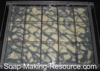 Handmade Soap Recipe Setting in Mold