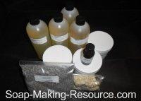 Lavender Soap Recipe Kit