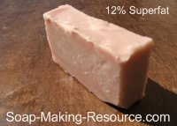 Madder Root Soap 12% Superfat